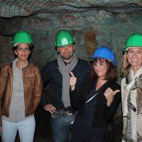 Les entrepreneurs varois dans le musée de la Mine de Cap Garonne