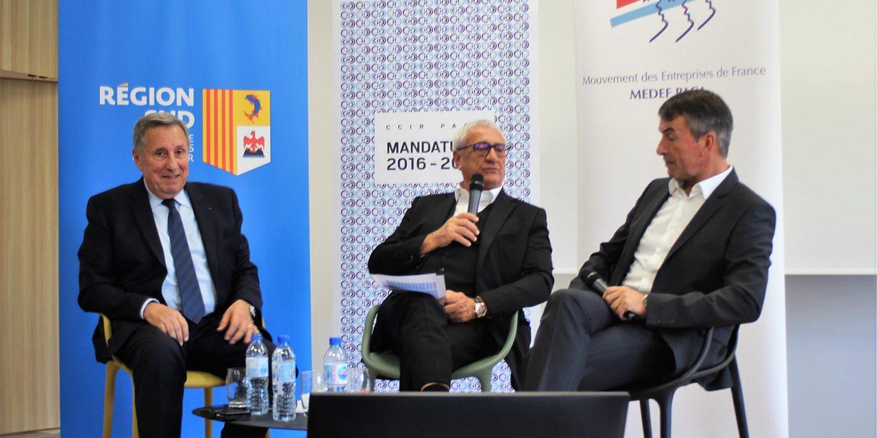 MARSEILLE : La Région Sud, le MEDEF Provence-Alpes-Côte d'Azur et le réseau des CCI de Provence-Alpes-Côte d'Azur, un trio gagnant au service des entrepreneurs ?