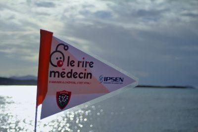 Bandol opération Plages Propres 2018 avec Le Rire Médecin, IPSEN et le RCT
