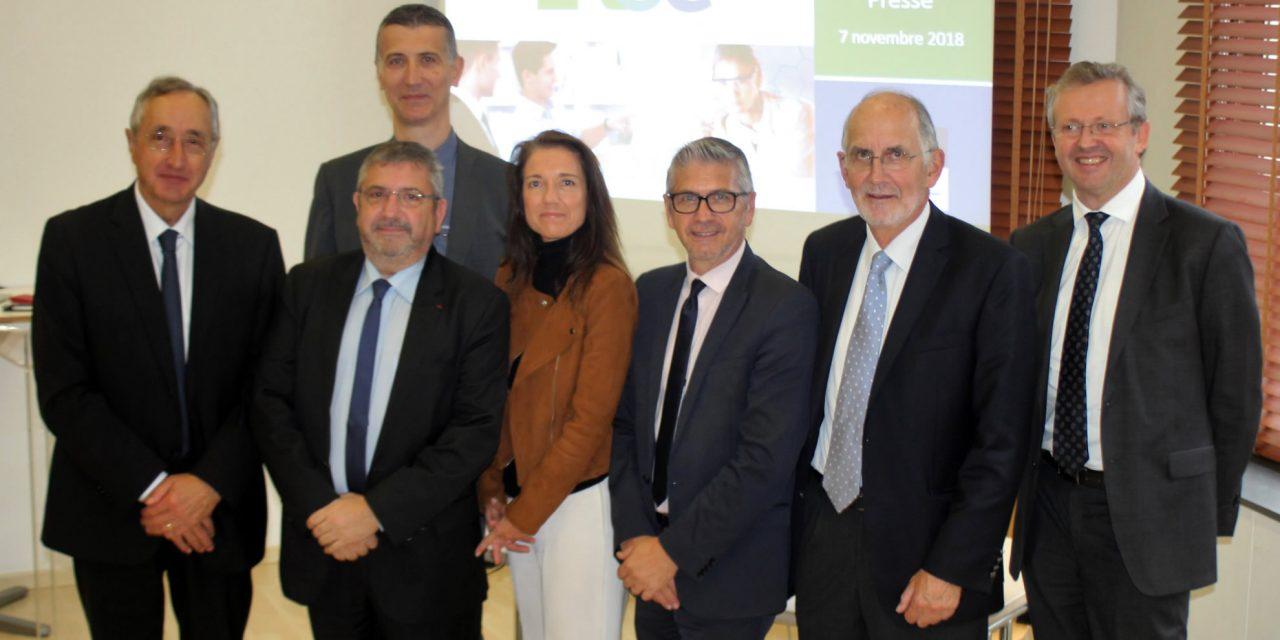 Toulon : L'Union Patronale du Var a accueilli les acteurs du déploiement du dispositif  « Rapprochement Université Laboratoires – Entreprises » dans le département du Var – RUE_83