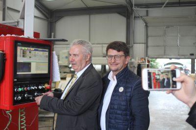 Les TOURNÉES PRÉSIDENT VAR de la CCI avec Jacques Bianchi et Laurent Falaize
