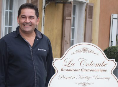 Les TOURNÉES PRÉSIDENT VAR de la CCI avec Pascal Bonamy du restaurant La Colombe