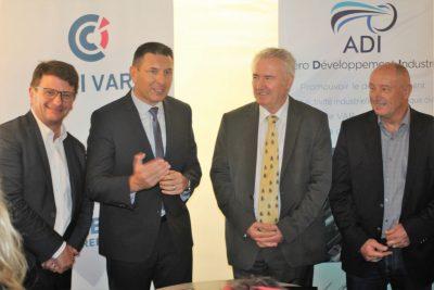 Les TOURNÉES PRÉSIDENT VAR de la CCI : convention entre la CCI du Var et l'Association ADI « Aéro Développement Industrie »