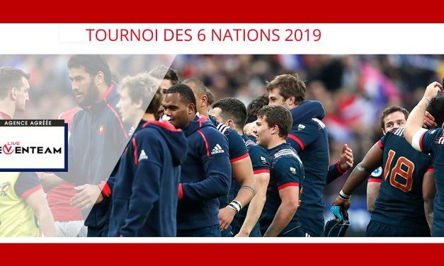 Rugby 6 Nations 2019, réservez vos places dès maintenant !