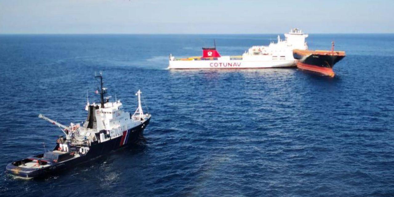 Toulon : Création d'un bureau des réclamations par les assureurs du ferry Ulysse et du CSL Virginia