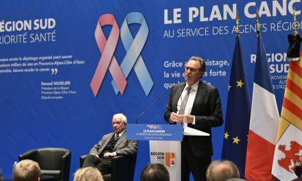 Renaud MUSELIER annonce le Plan Cancer aux agents régionaux