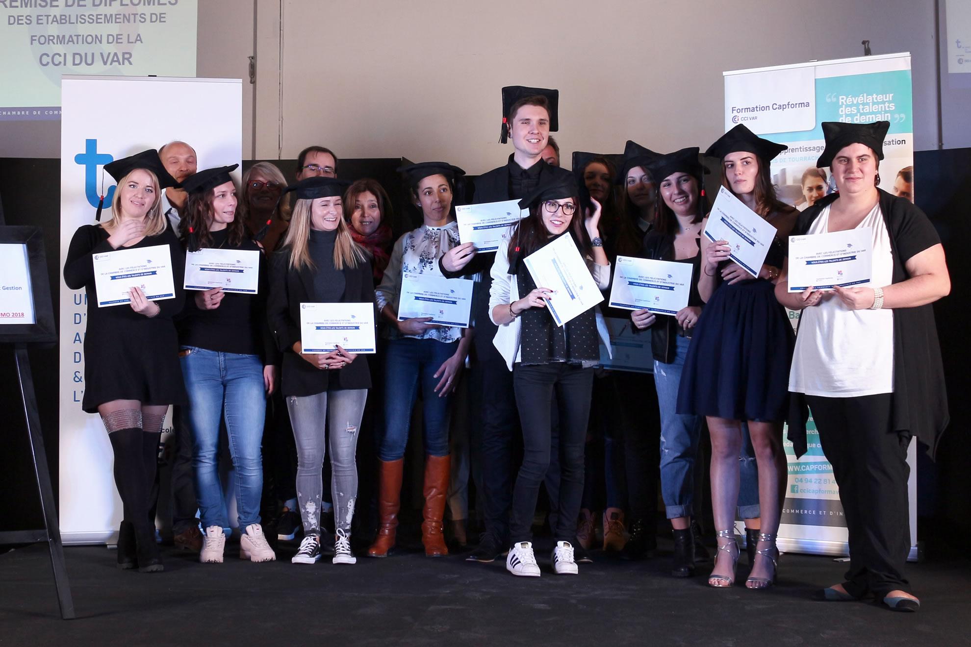 Promo BTS Comptabilité Gestion du lycée La Tourrache