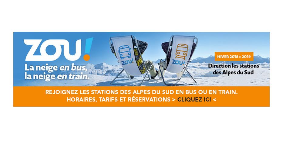 ZOU Neige : La Région Sud vous emmène aux sports d'hiver