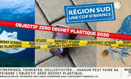 Région Sud : Objectif Zéro déchet plastique 2030