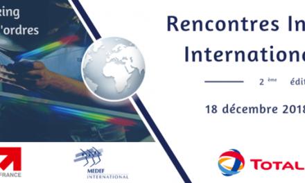 Communiqué de Presse : Pourquoi participer aux Rencontres Industrielles Internationales le 18 décembre à Marseille