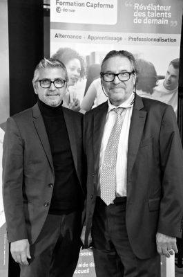 Erick MASCARO et Joël POTIER