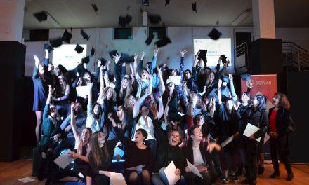 La Garde : Remise des diplômes du centre de formation CAPFORMA et du lycée la Tourrache, les établissements de formation de la CCI du Var