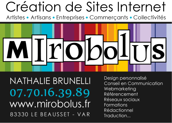 Mirobolus : création de sites internet