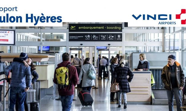 L'aéroport Toulon Hyères décolle en 2018 !