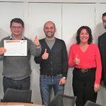 La Crau Pôle : ce jeudi à 12H15 association d'entreprises à la Crau certifié 14001