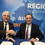 Renaud MUSELIER et Guillaume PEPY signent un protocole d'accord pour un service de transport ferroviaire régional de qualité