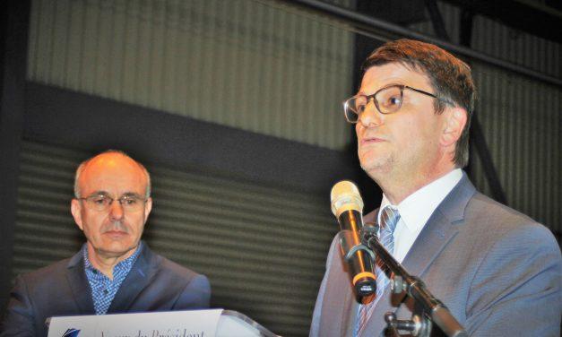 Vœux de Laurent Falaize, candidat à la présidence de l'Union Patronale du Var