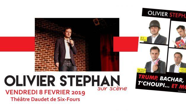 Olivier STEPHAN sur scène le 8 février au Théâtre Daudet de Six-Fours