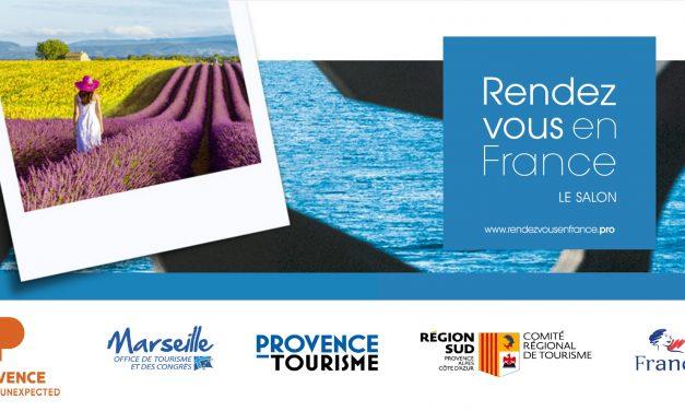 Salon Rendez-vous en France 2019 : Marseille et la Provence accueillent le Monde !