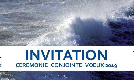 Invitation : Cérémonie conjointe des vœux de l'UMRT et du comité Toulon Provence de l'IFM