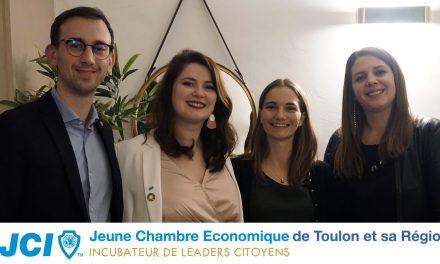 Nouvelle présidente pour la Jeune Chambre Économique de Toulon et sa région