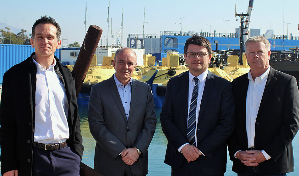 La Seyne -Brégaillon : Le cluster RIVIERA YACHTING NETWORK pointe les activités yachting de la rade de Toulon