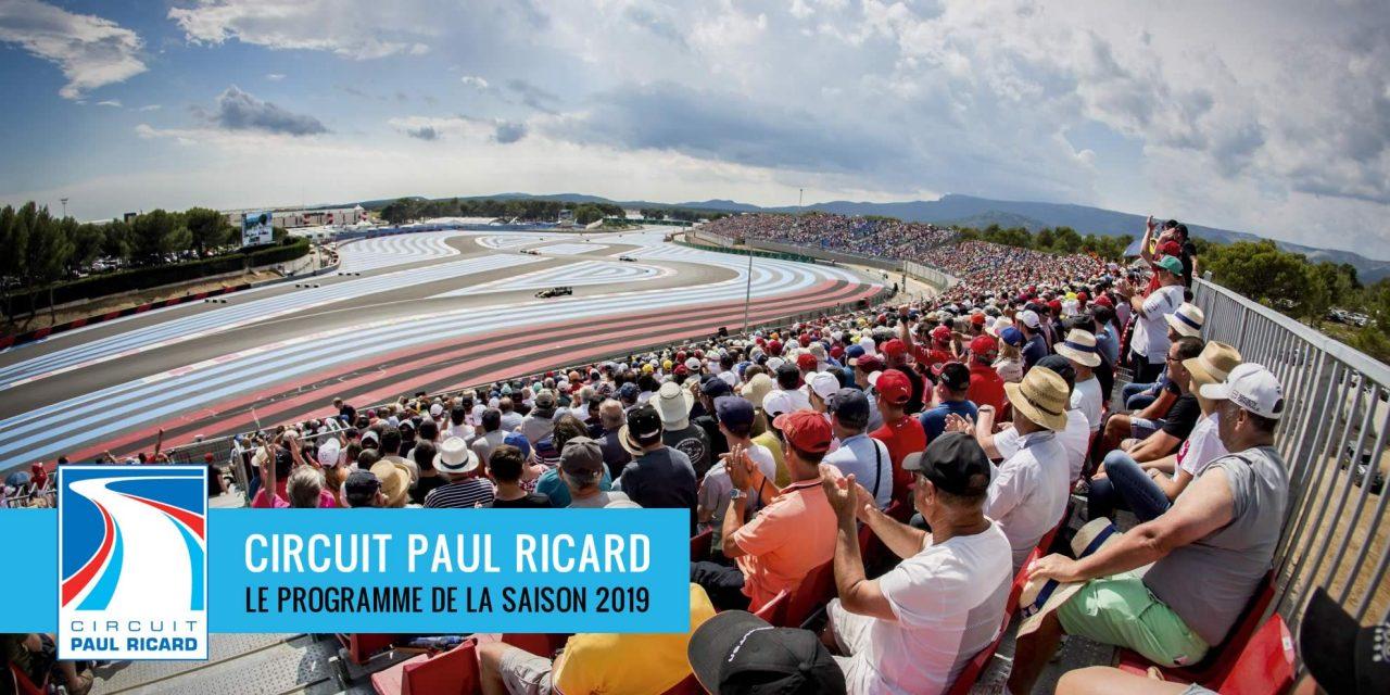 La Saison 2019 au Circuit Paul Ricard