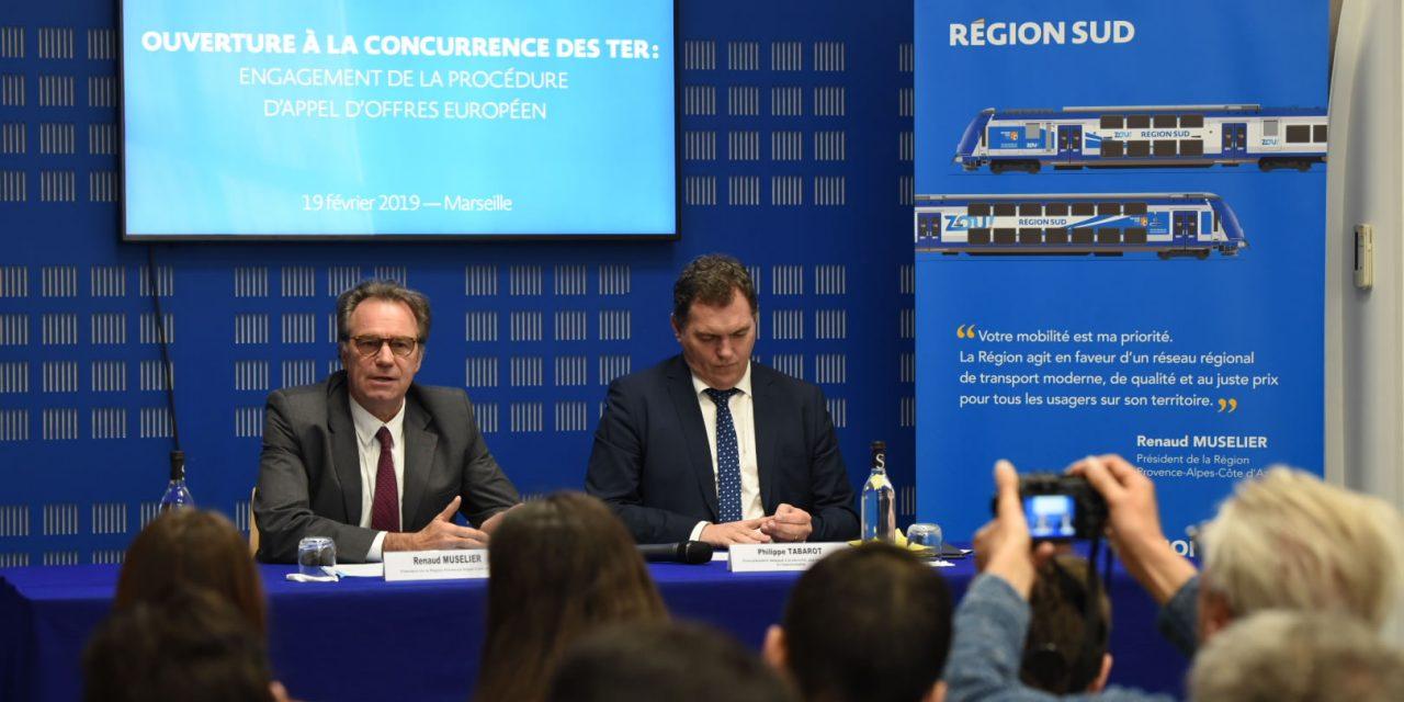 Ouverture à la concurrence des TER : engagement de la Procédure d'Appel d'offres Européen