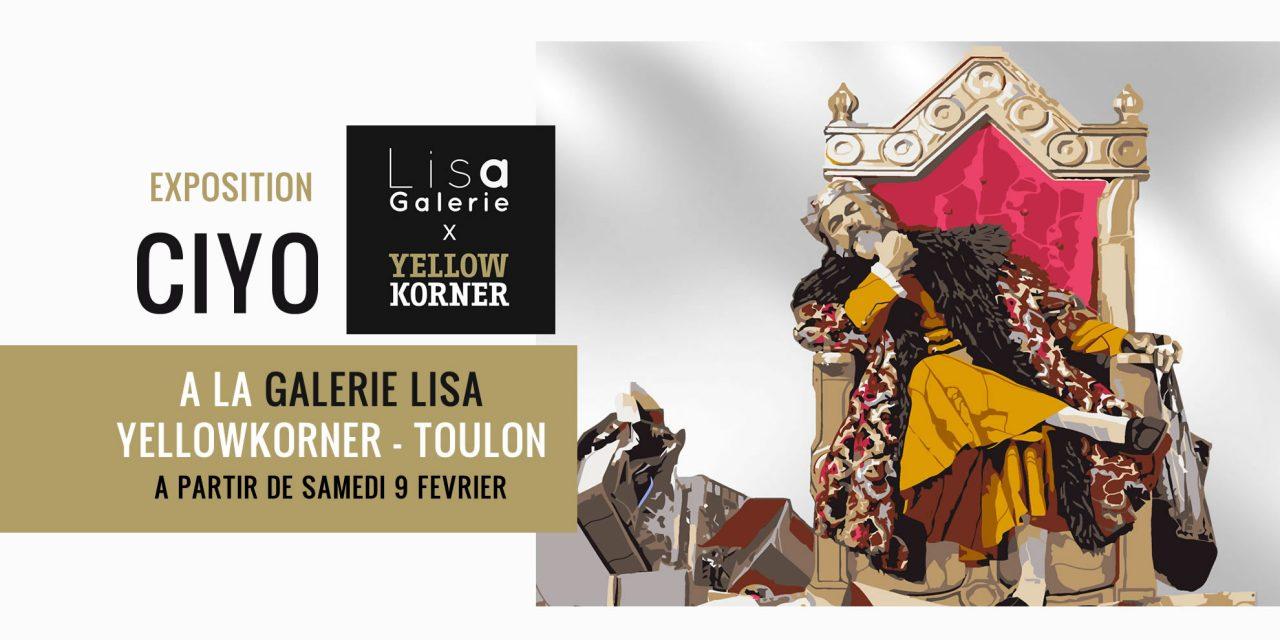 Toulon : CIYO à la Galerie LISA