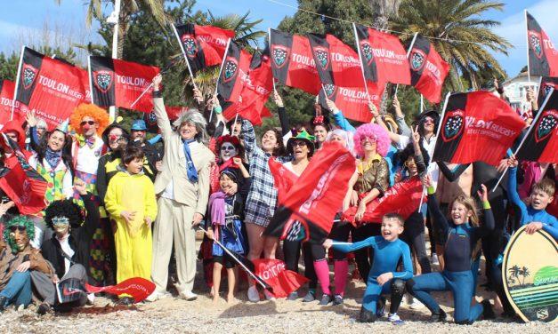 Le 4e défi Ipsen-RCT au profit de l'association Le Rire Médecin: un grand bain de solidarité et de plaisir