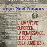 CONFÉRENCE par Jean-Noël Nouaux, président du Mouvement européen du Var
