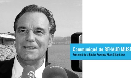 Marseille – Discours de Renaud Muselier président de la Région Provence-Alpes-Côte d'Azur, Président de Régions de France