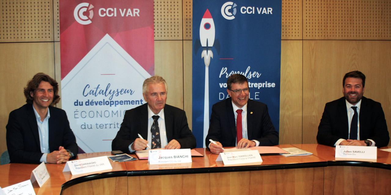 La FNAIM et la CCI du Var, avec Capforma, déploient le label École des Métiers de l'Immobilier
