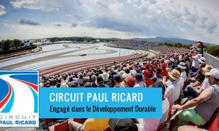 Le Circuit Paul Ricard engagé dans le développement durable
