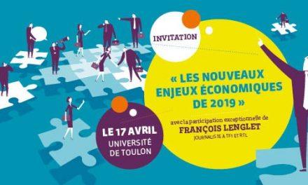 Invitation François LENGLET (TF1-RTL) le 17 avril prochain