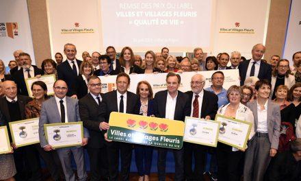 Remise des prix du Label Villes & Villages Fleuris