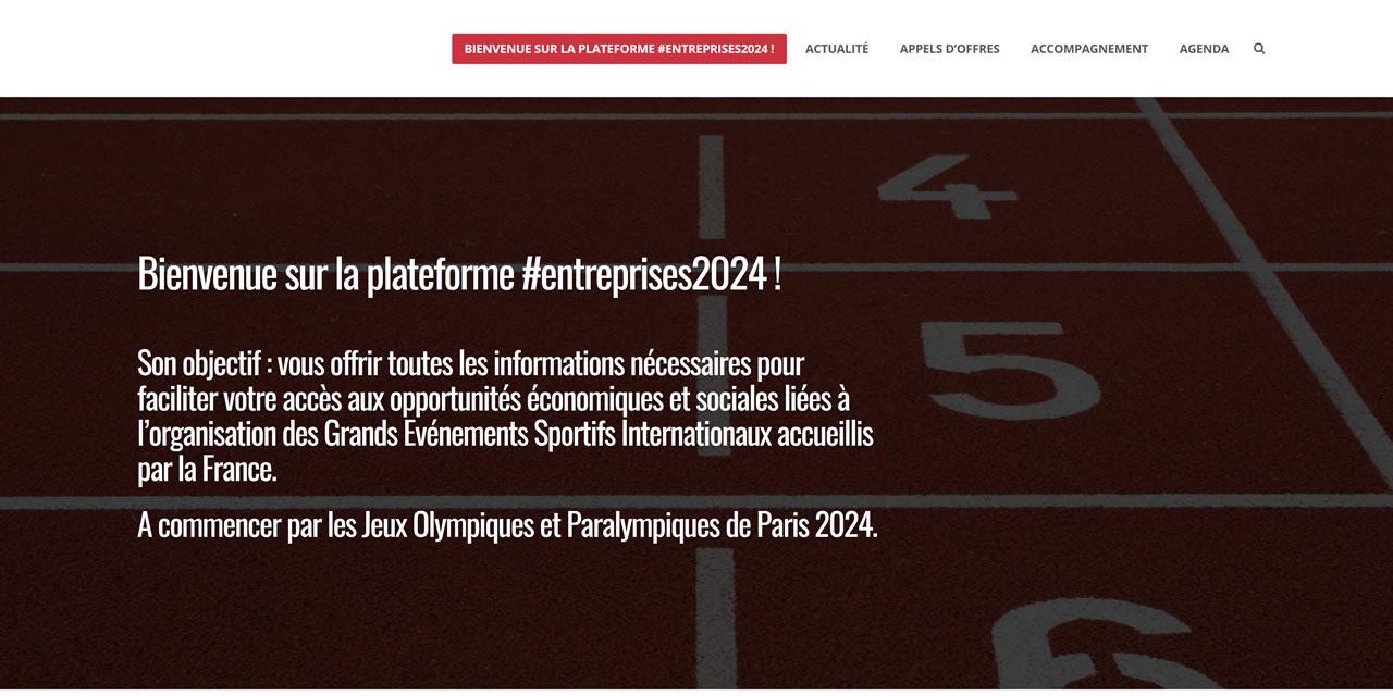 Création de la plateforme Entreprises 2024