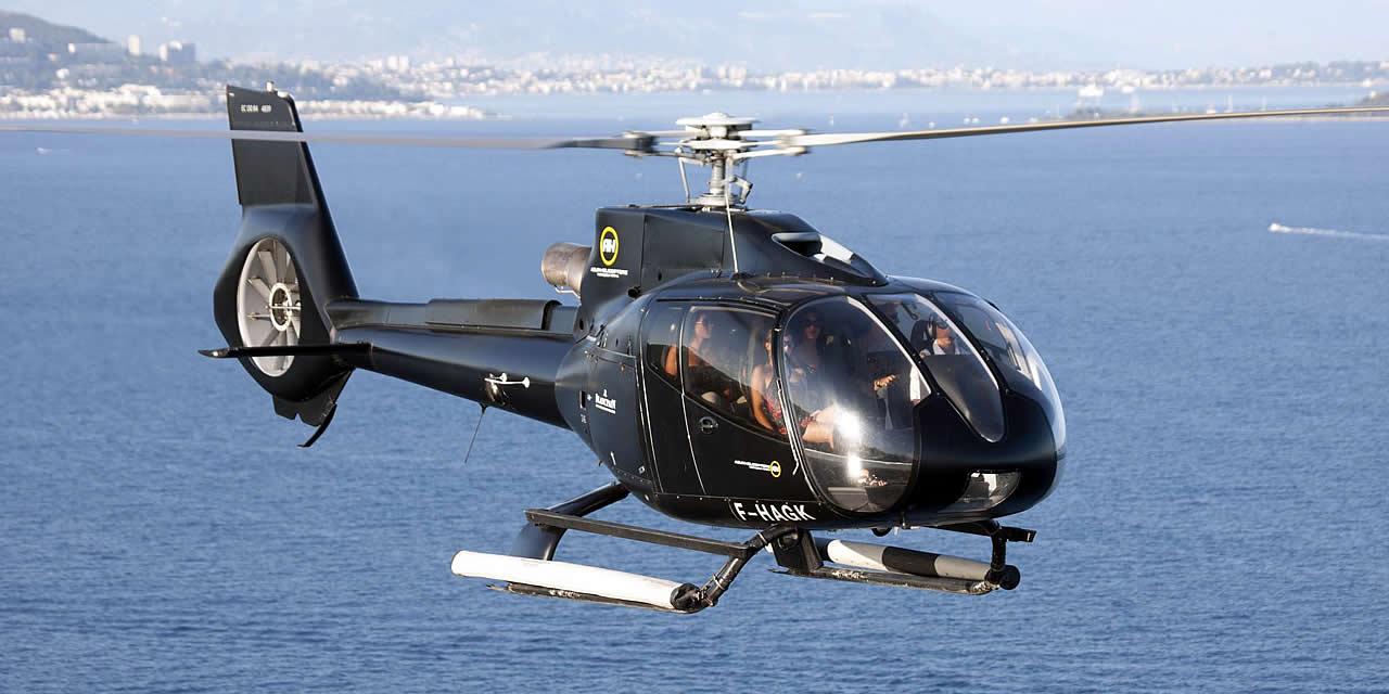 Azur Hélicoptère, partenaire officiel hélicoptère du Grand Prix de France de Formule 1