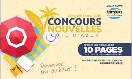 Participez au Concours de Nouvelles Côte d'Azur de l'Association des Éditeurs Alpes-Côte d'Azur