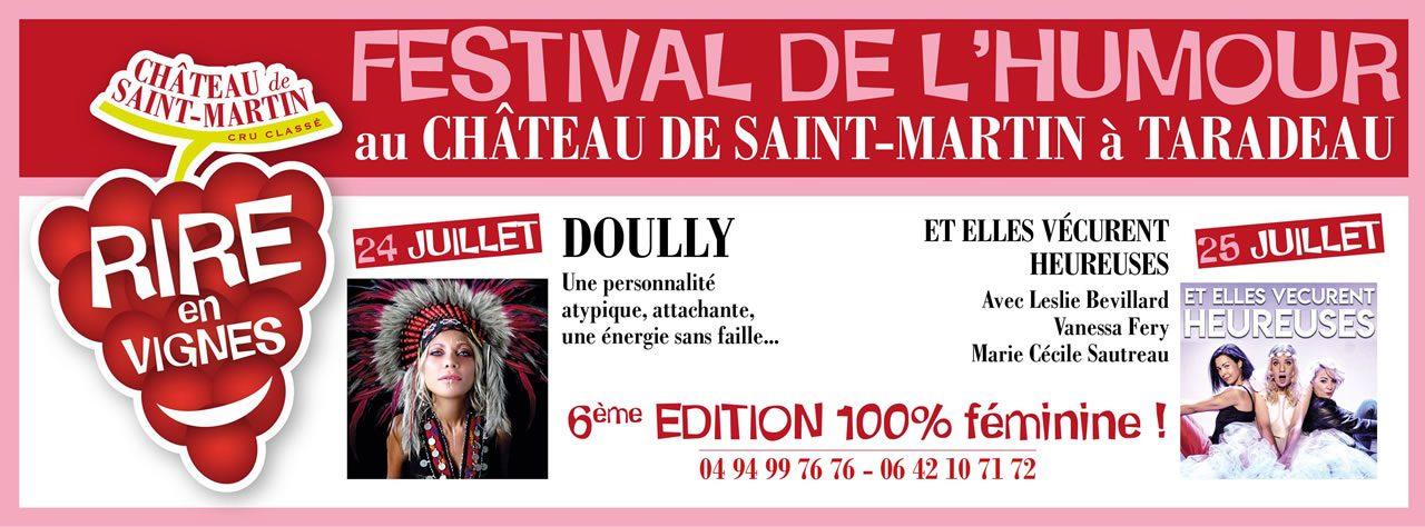 Festival de l'humour RIRE EN VIGNES : Une 6ème ÉDITION 100% féminine !