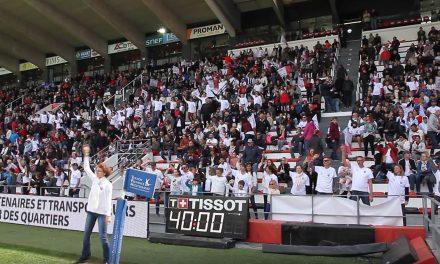 6ème défi IPSEN-RCT réussi ce dimanche à la mi-temps du RCT-Bordeaux-Bègles