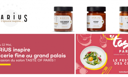 Salon TASTE OF PARIS : Marius inspire l'épicerie fine au Grand Palais