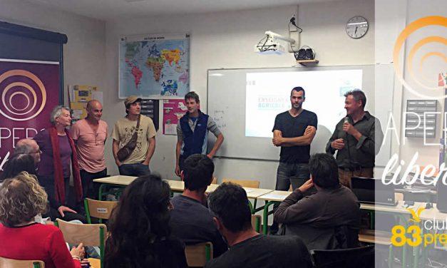 Saint Maximin Club de la Presse 83 – L'Apéro Liberté «Peut-on manger local ?»