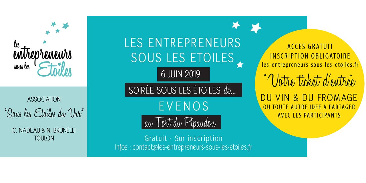 12ème Soirée des Entrepreneurs sous les Étoiles à Evenos le 6 juin