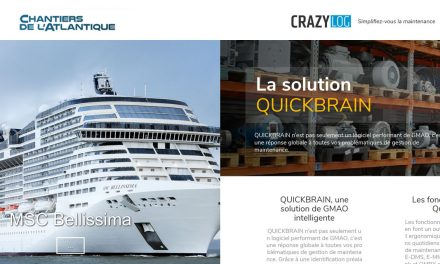 La PME varoise CRAZYLOG et Chantiers de l'Atlantique : Le fruit d'une collaboration de terrain