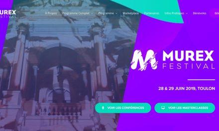 MUREX FESTIVAL TOULON, le Festival International des Cultures Numériques et Créatives : 28 & 29 JUIN 2019