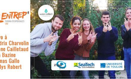 Les Entrep' : des étudiants de l'UTLN  remportent le prix du meilleur projet Eco-Responsable