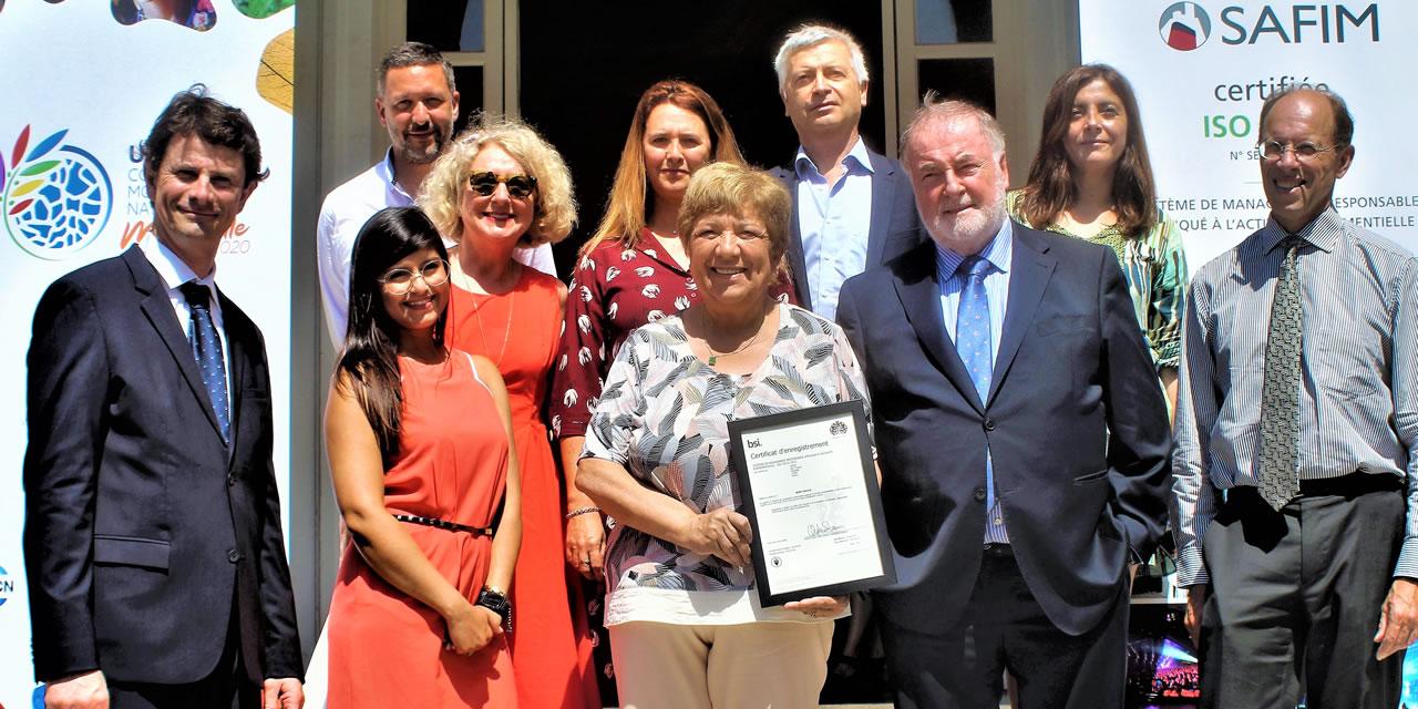 La SAFIM devient la 2ème entité évènementielle de la Métropole certifiée ISO 20121