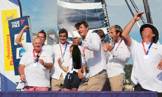 Team Réseau IXIO – Toulon Provence Méditerranée termine 3ème du Tour Voile 2019 !