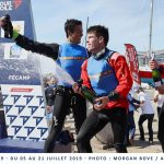 Team Réseau Ixio Toulon Provence Méditerranée : première victoire sur le Tour Voile 2019